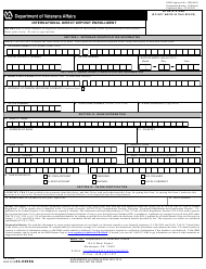 "VA Form 24-0296A ""International Direct Deposit Enrollment"""