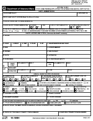VA Form 10-10SH State Home Program Application for Veteran Care Medical Certification