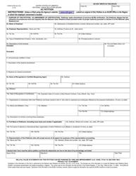 "Form NLRB-502 (AC) ""Ac Petition"""