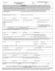"Form NLRB-502 (RC) ""RC Petition"""