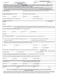 """Form NLRB-502 (UD) """"Ud Petition"""""""