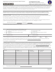"Form LS-276 ""Application for Security Deposit Determination"""
