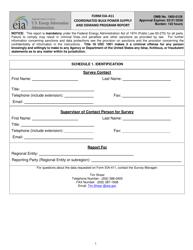 Form EIA-411 Coordinated Bulk Power Supply and Demand Program Report