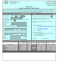 Form EIA-816 Monthly Natural Gas Liquids Report