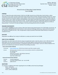 Form EIA-886 Annual Survey of Alternative Fueled Vehicles