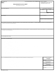 Form 335 Bibliographic Data Sheet