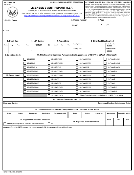 Property condition report form waler