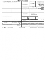 "IRS Form 1099-R ""Distributions From Pensions, Annuities, Retirement or Profit-Sharing Plans, Iras, Insurance Contracts, Etc."", Page 6"