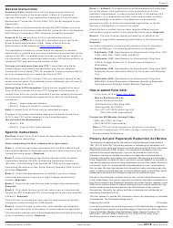 """IRS Form 4419 """"Application for Filing Information Returns Electronically (Fire)"""", Page 2"""