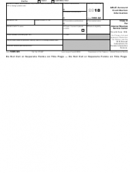 IRS Form 5498-QA Able Account Contribution Information