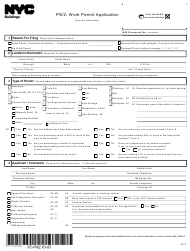 "Form PW2 ""Work Permit Application"" - New York City"