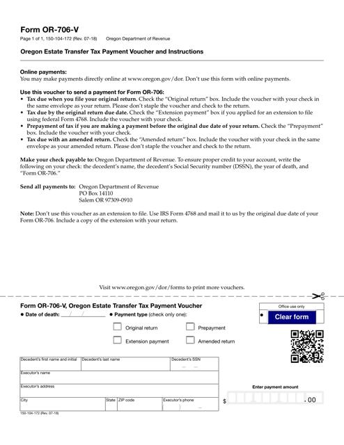 Form 150-104-172 Fillable Pdf