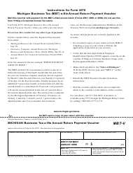 michigan state tax payment voucher