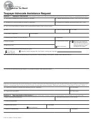 "Form FTB914 ""Taxpayer Advocate Assistance Request"" - California"