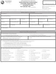 State Form 46918 Form Bas-1 - Indiana Business Authorization and Safety Application for Intrastate Carriers - Indiana