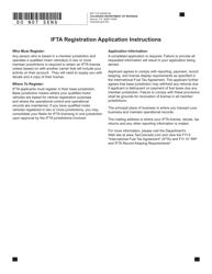 "Form DR7119 ""International Fuel Tax Agreement (Ifta) Registration"" - Colorado"