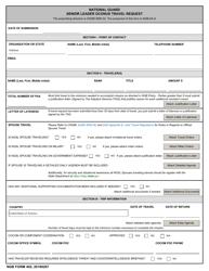 "NGB Form 402 ""National Guard Senior Leader OCONUS Travel Request"""