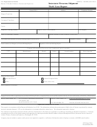 ATF Form 3310.6 Interstate Firearms Shipment Theft/Loss Report