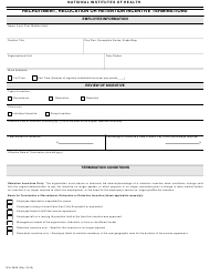 "Form 2959 ""Recruitment, Relocation or Retention Incentive Terminations"""