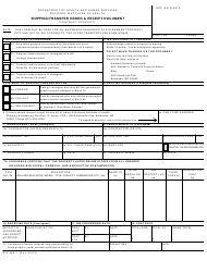 "Form NIH-649-1 ""Shipping/Transfer Order & Receipt Document"""