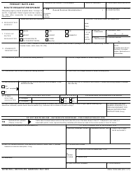 GSA Form 420 Freight Rate and Route Request/Response