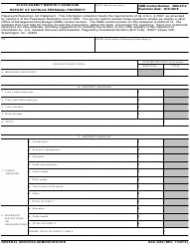 GSA Form 3040 State Agency Monthly Donation Report Of Surplus Personal Property