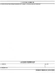 GSA Form SF-330 Extra Section H - Additional Information