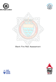 """Fire Risk Assessment Form"" - West Sussex, United Kingdom"