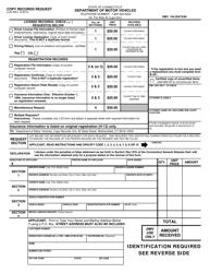 """Form J-23 """"Copy Records Request"""" - Connecticut"""