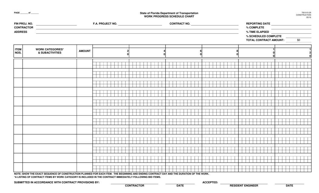 Form 700-010-29  Printable Pdf