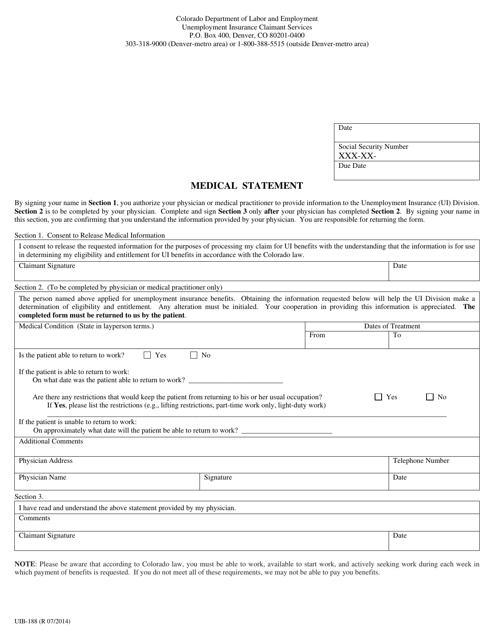 Fillable Online Ebookscenter Colorado Unemployment Form Uitr 1