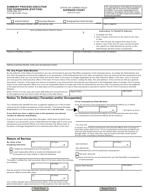 Form JD-HM-2  Printable Pdf