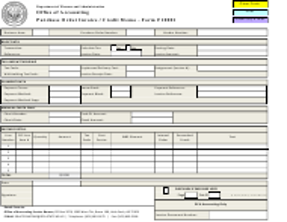 "Form F10001 ""Purchase Order Invoice / Credit Memo"" - Arkansas"