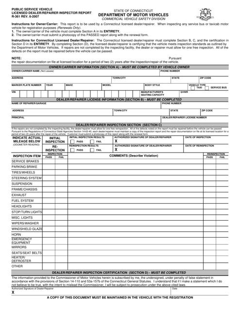 Form R-361  Printable Pdf