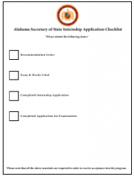2019 Internship Program Information Packet - Alabama, Page 14