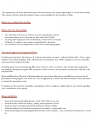 2019 Internship Program Information Packet - Alabama, Page 4