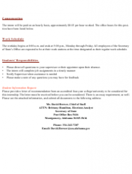2019 Internship Program Information Packet - Alabama, Page 5