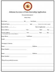 2019 Internship Program Information Packet - Alabama, Page 8