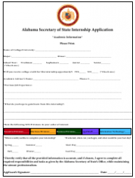 2019 Internship Program Information Packet - Alabama, Page 9