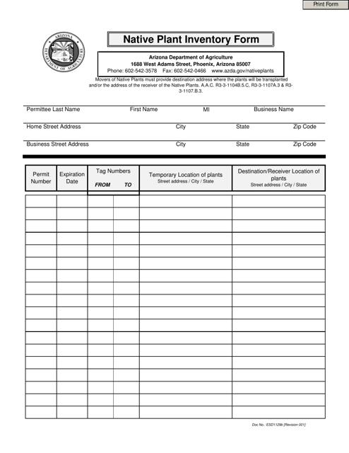 Form ESD1129B  Printable Pdf