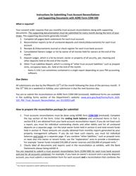 """Form COM-500 """"Property Management Trust Account Reconciliation"""" - Arizona"""