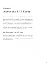Official Sat Study Guide: Chapter 17 - About the Sat Essay - the College Board 2016