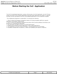 "Form AZ-500 ""Coc Registration Application"" - Arizona, 2018"