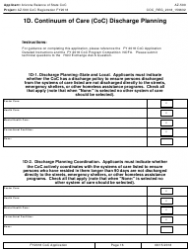 Form AZ-500 2018 Coc Registration Application - Arizona, Page 16