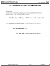 Form AZ-500 2018 Coc Registration Application - Arizona, Page 2