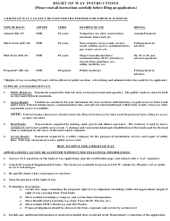 "Instructions for ""Right of Way"" - Arizona"
