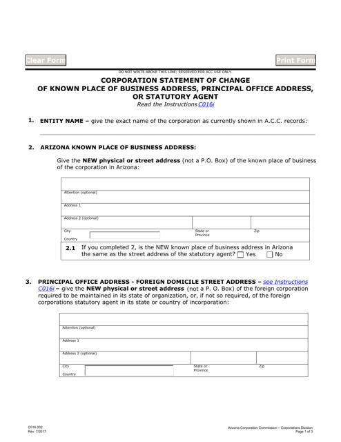 Form C016.002  Printable Pdf