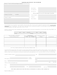 Form Claims ICA 0110B Notice of Intent to Suspend - Arizona