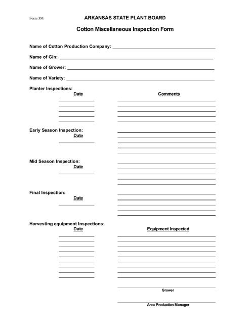 Form 3M  Printable Pdf