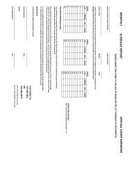 """Monthly Schedule Report Form - Official Court Reporter"" - Arkansas"